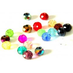 Klaaspärlid / Glass Beads 10. tk / pcs 6mm MIX