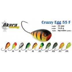 Akara Crazy Egg 55F 55mm/14g colour: A3