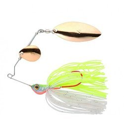JENZI Spinnerbait Pea Cock SL Chartreuse 21g 5465 001