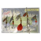 Mepps Perch Kit with 5 spinners