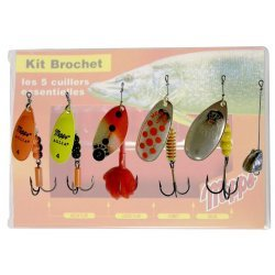 Mepps Pike Kit with 5 spinners