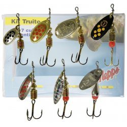 Mepps Trout Kit with 7 spinners