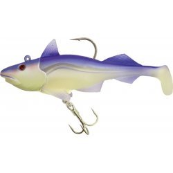 Quantum Sea Skrey Shad 1+2pcs 19.5cm/340g 10/0 Purple Moon