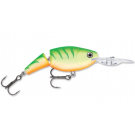 Rapala Jointed Shad Rap Green Tiger UV 4cm/5g JSR04 GTU