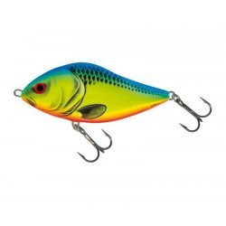 Salmo Slider SD12F 12cm/60g Chartreuse Blue