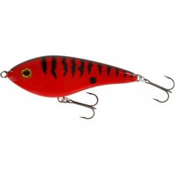Westin Jerk Swim 10cm/31g Low Floating Red Tiger
