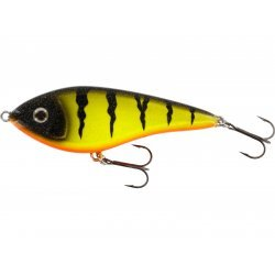 Westin Jerk Swim 10cm/31g Low Floating Fire Perch