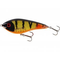 Westin Jerk Swim 10cm/31g Low Floating 3D Golden Perch