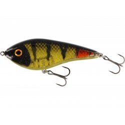 Westin Jerk Swim 10cm/31g Low Floating 3D Oliveoil Perch