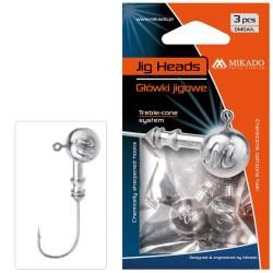 Mikado Aberdeen Jig Heads 1.pcs 50g size: 6/0