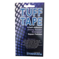 Stormsure TUFF Tape Assorted Self Adhesive Patch Set 6-Pack, waterproof and airtight