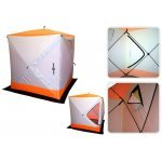 Talitelk / Winter tent Fish2Fish Cube I 220 x 220 x 235cm 12,0kg White/Yellow