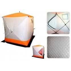 Talitelk / Winter tent Fish2Fish Cube II 180 x 180 x 195cm 9,6kg White/Yellow