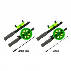 Taliritv / Winter rod AKARA JL1006 with neoprene handle (46cm, reel diam. 95mm, green)