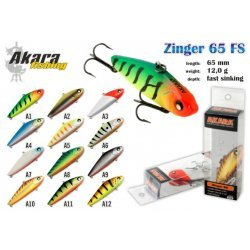 Wobbler AKARA  Zinger  65 FS (12g 65mm color: A1)