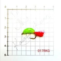 Muska KALASTUSKUNN (UV-värvid) 017RKG (Helendav)