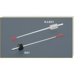 Nooguti / Quiver tip AKARA S 21 lavsan (rubber fixation, 80 mm, rigidness: 0,35, load: 0,30 - 0,60g)