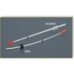 Nooguti / Quiver tip AKARA S 42 lavsan (rubber fixation, 120 mm, rigidness: 0,25, load: 0,20 - 0,40g)