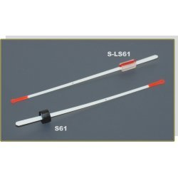 Nooguti / Quiver tip AKARA S 61 lavsan (rubber fixation, 100 mm, rigidness: 0,25, load: 0,30 - 0,70g)