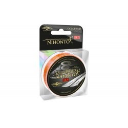 Mikado Nihonto Octa Braid Orange 10m 0.20mm/18.10kg