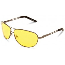 Prillid EYELEVEL Polarized Night Driver (klaas: Kollane)(raam: Matt-Hõbe)