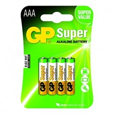 Patarei GP Super AAA 4.pcs LR03 1.5V GP24A-2U4