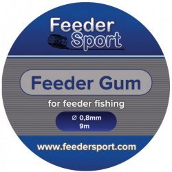 FeederSport Feeder Gum FG 0,8mm 9m Clear