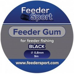 FeederSport Feeder Gum FGB 0,8mm 9m Black