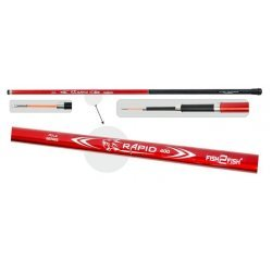 Fish2Fish Rapid Pole Red (telesc., 3,00m, composite, 140g, test: 10-40g) w/o guides
