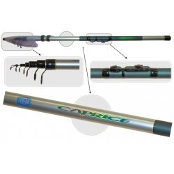 Fishing rod MB STREAM «CAPRICE» 2280 (telesc., 5,00 m, composite, 520 g, test: 10-40 g)