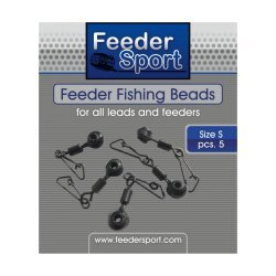 FeederSport Feeder Fishing Beads Size / Suurus: S 5.pcs / tk