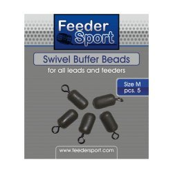 FeederSport Swivel Buffer Beads Size / Suurus: M 5.pcs / tk