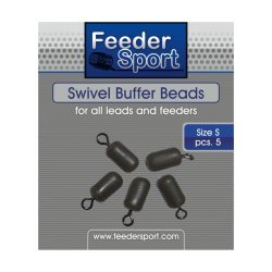 FeederSport Swivel Buffer Beads Size / Suurus: S 5.pcs / tk