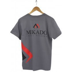 Mikado Total Fishing T-Särk Real Grey L