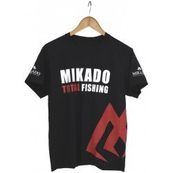 Mikado Total Fishing T-Särk Black L