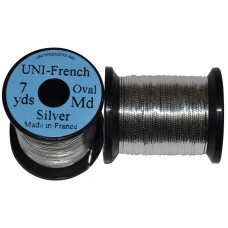 EUMER Uni French oval medium silver