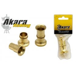 Hair Stacker AKARA 7175 ( brass 4,5 cm)
