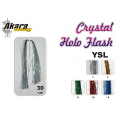 Flies tail AKARA Crystal Holo Flash YLS (30 cm, color: 3)