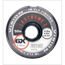 Vision EXTREME tippet material (2X) 0,24mm/5,20kg/30m