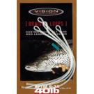 Vision BRAIDED LOOPS Salmon 40lb