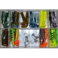 Mikado SET Fishunter 9.5cm 36pcs Zander and Pike Combo