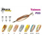 AKARA Taimen P23 (spoon bait, 17,5 g, 80 mm, colour: P2303 AK2/GO)