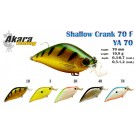 Wobbler AKARA «Shallow Crank» 70 F (10,9 g, 70 mm, colour 3H)