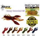 AKARA Mega SOFTTAIL Eatable «Crazy Crawdad» (65 mm, colour X017, pack. 10 item)