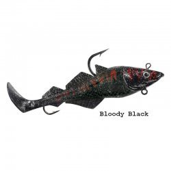 BALZER MAD SHAD BLOODY BLACK 21cm/300g