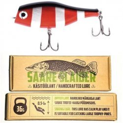 Saare Slaider SS08 Punane-Must 1 36g/11cm