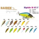 RAIDEN Riptide M 65 F  (9 g, 65 mm, colour R65)