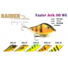 RAIDEN Faster Jerk 80 (16 g, 80 mm, colour STK01-04)