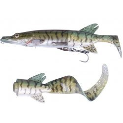 Savage Gear 3D Hybrid Pike 17cm/45g SS07 Green Silver Pike 50226