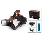 Head lamp CREE T6-6501 (diods: 1, power source: 1 x 186500 (3 x AAA) + charger)